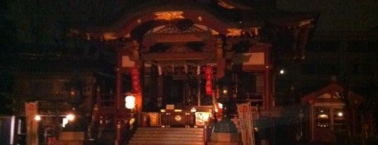 羽田神社 is one of 神輿で訪れた場所-1.