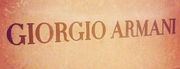 Giorgio Armani is one of บันทึกเดินทาง Chicago, IL (#259).
