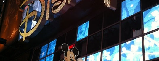 Disney store is one of New York.