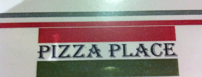 Pizza Place is one of Locais curtidos por Kleber.