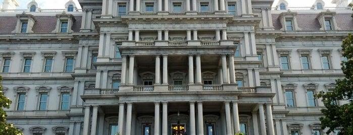 Eisenhower Executive Office Building is one of Washington DC.