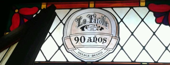 La Farola is one of Oaxaca.
