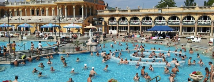 Balneario Termal Széchenyi is one of 50 Best Swimming Pools in the World.
