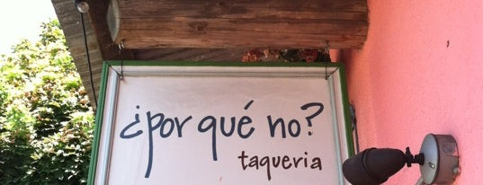 ¿Por Qué No? is one of Gluten Free Grub.