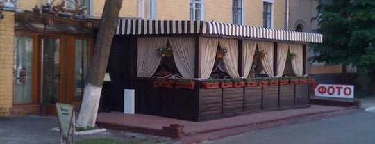Велюров is one of Cafes and Restaurants in Chernihiv.