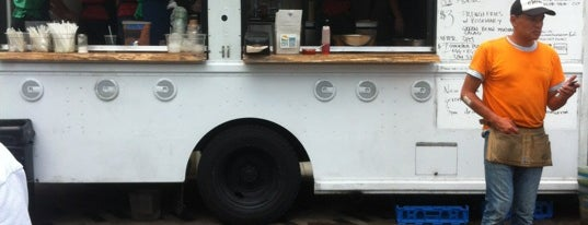 Clover Food Truck (Dewey Sq) is one of Downtown Boston, Chinatown & North End.