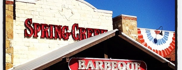 Spring Creek Barbeque is one of Posti che sono piaciuti a Ken.