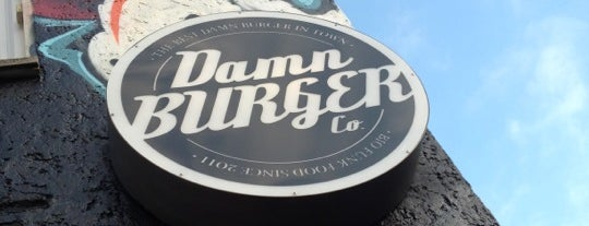 Damn Burger Co. is one of Locais curtidos por Marco.