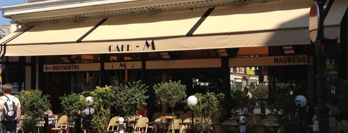 Café M is one of Burgers.