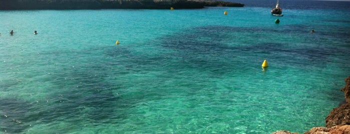 Playa Cala en Bosch is one of Tempat yang Disukai pezike.