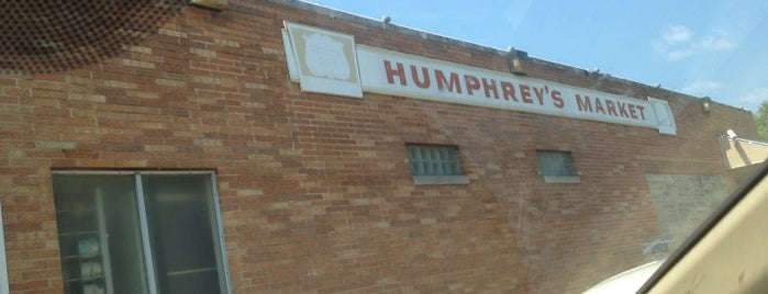 Humphrey's Market is one of BBQ, Smoking, Carnitas, Butchers.