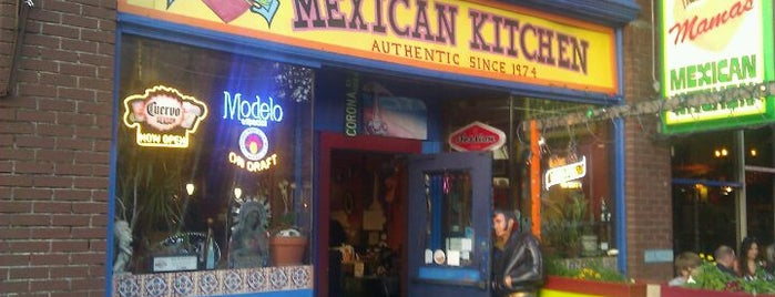 Mama's Mexican Kitchen is one of Kelsey 님이 저장한 장소.