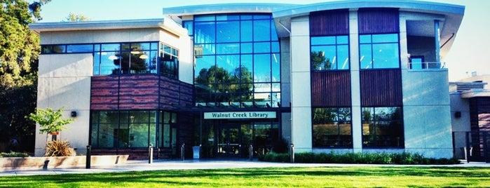 Walnut Creek Library is one of Walnut creeky.