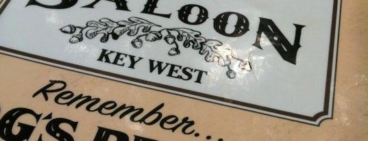 Hog's Breath Saloon is one of Key West.