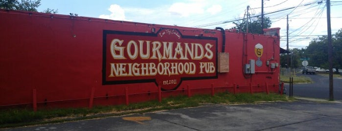 Gourmands Neighborhood Pub is one of Tempat yang Disukai John.