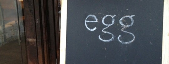 Egg is one of NY Vegetarian Favorites.