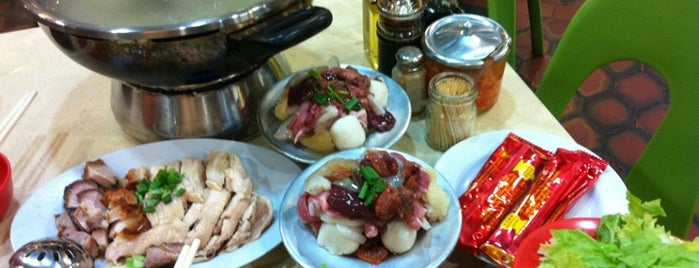 Golden Mile Thien Kee Steamboat Restaurant is one of Sg.