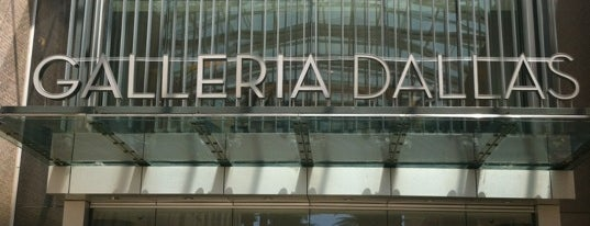 Galleria Dallas is one of Exploring Dallas~.