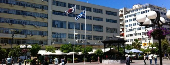 Korai Square is one of Piraeus of the Ambitious.