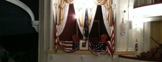 Ford's Theatre is one of Must See DC!.
