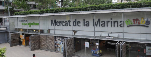 Mercat de la Marina is one of Mercados....