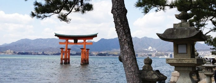 Miyajima (Itsukushima) is one of Japonya.