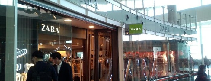 Zara is one of Airports.