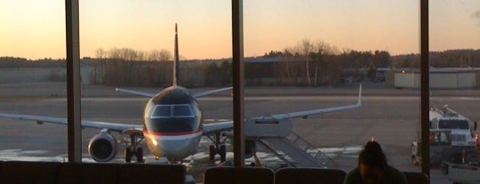 Manchester-Boston Regional Airport (MHT) is one of Airports Visited.