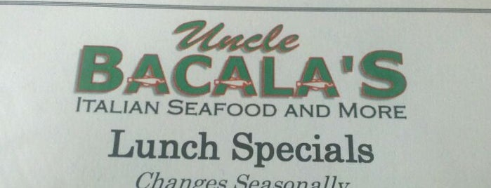 Uncle Bacala's is one of Posti salvati di Christopher.