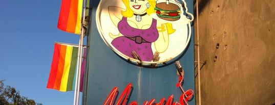Hamburger Mary's is one of Gay Places.