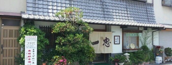 一忠うどん is one of 第5回 関西讃岐うどん西国三十三カ所巡礼.