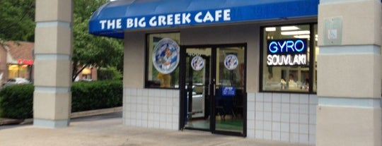 The Big Greek Cafe is one of Best of Montgomery County 2014.