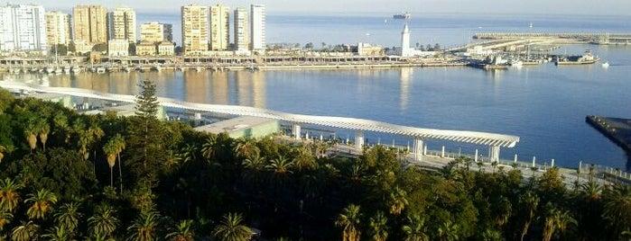 Terraza Hotel Málaga Palacio is one of 101 cosas que ver en Málaga antes de morir.