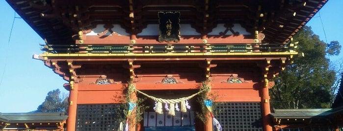 伊賀八幡宮 is one of 三河武士を訪ねる岡崎の旅.