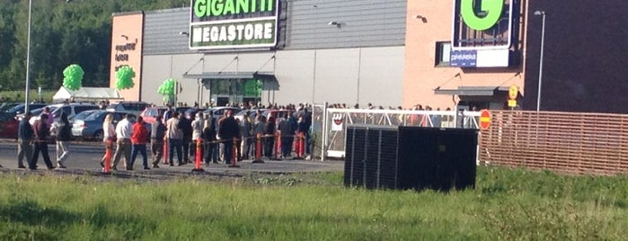 Gigantti Megastore is one of fi.