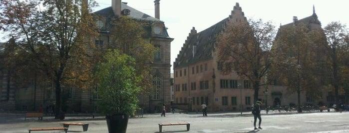 Place du Château is one of Strasbourg - Capitale de Noël - #4sqcities.