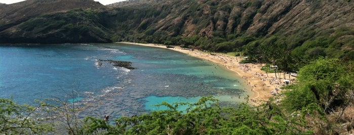 Hanauma Bay Nature Preserve is one of Honolulu: The Big Pineapple #4sqCities.