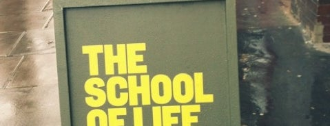 The School of Life is one of Tired of London, Tired of Life (Jan-Jun).