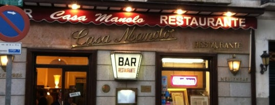 Casa Manolo is one of mylifeisgorgeous in Madrid.