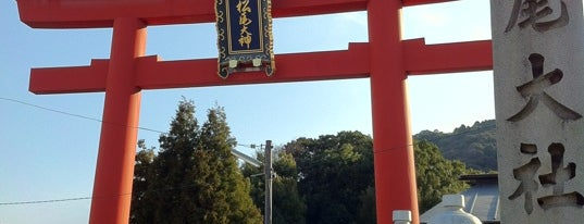 Matsunoo-Taisha Shrine is one of สถานที่ที่ Saejima ถูกใจ.