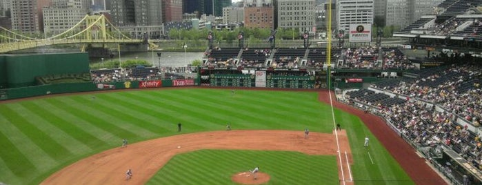 PNC Park is one of Places that are checked off my Bucket List!.