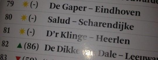 Café D'r Klinge is one of Misset Horeca Café Top 100 2012.