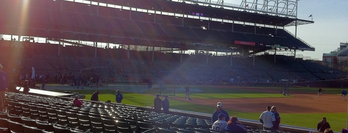 Wrigley Field is one of Chicago Spots.