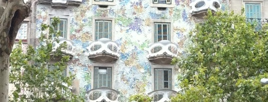 Casa Batlló is one of Favorite places in Barcelona.
