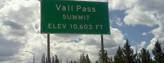 Vail Pass is one of I-70.