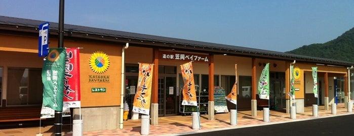 道の駅 笠岡ベイファーム is one of ZN'ın Kaydettiği Mekanlar.