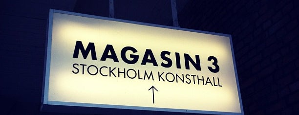 Magasin III Museum & Foundation for Contemporary Art is one of Stockholm ✈️.