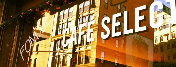 Café Select is one of MY NYC.