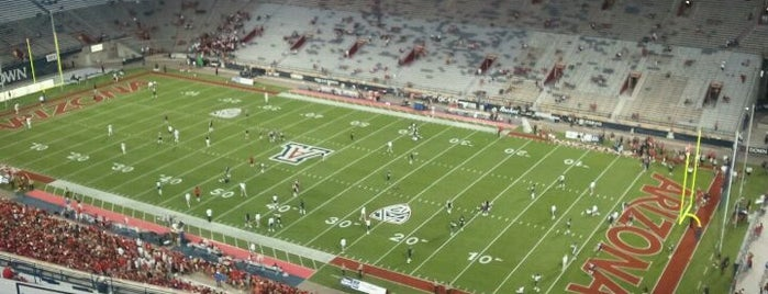 Arizona Stadium is one of Great Sport Locations Across United States.