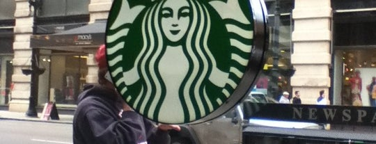 Starbucks is one of NY.